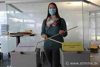 Vorbereitungen für die Wahl in Obersulm - Heilbronner Stimme