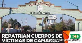 Repatrían cuerpos de víctimas de Camargo - El Diario de Ciudad Victoria