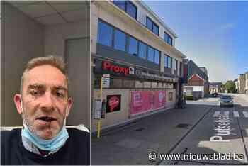 Jonge kerels kloppen Serge het ziekenhuis geklopt, omdat hij tussenkwam in ruzie over mondmasker