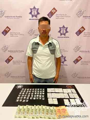 """En Zinacatepec, Policía Estatal captura a presunto operador del """"gota a gota"""" - desdepuebla.com - DesdePuebla"""