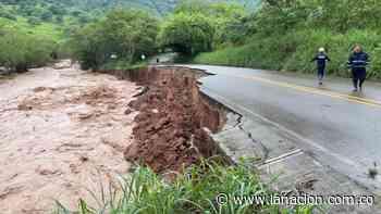 Las afectaciones de las lluvias en Timaná • La Nación - La Nación.com.co