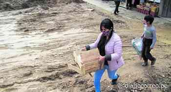 Doce viviendas fueron afectadas en Chilca por obra de alcantarillado e incesante lluvia - Diario Correo