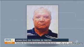 Corretores de imóveis são atingidos por tiros em Teixeira de Freitas; um deles morreu dentro de carro - G1