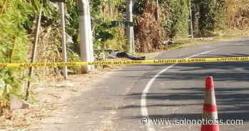 Hallan cadáver de un hombre en calle antigua a Olocuilta - Solo Noticias