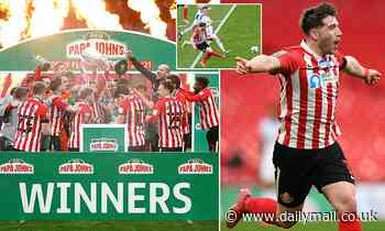 Sunderland 1-0 Tranmere: Gooch's second-half strike secures Papa John's Trophy for Black Cats