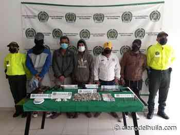 Capturados cuatro hombres y un adolescente por expendio de estupefacientes en Suaza - Diario del Huila
