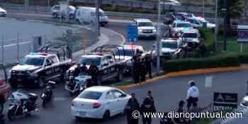 Balacera entre policías y 5 sujetos en la zona de Angelópolis - Diario Puntual