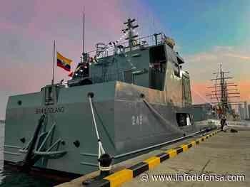 Colombia bautiza a su nuevo buque de desembarco ARC Bahía Solano - Noticias Infodefensa América - Infodefensa.com