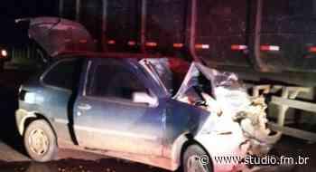 Homem morre após acidente na BR 285 em Lagoa Vermelha | Rádio Studio 87.7 FM | Studio TV - Rádio Studio 87.7 FM | Studio TV | Veranópolis