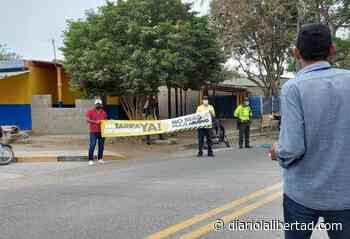 ¡No más peaje abusivo! En Baranoa protestan por pagos de tarifa y alcalde ayudó a abrir otra vía - Diario La Libertad