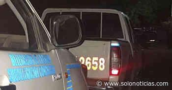 Dos pandilleros lesionados tras enfrentamiento en Conchagua, La Unión - Solo Noticias
