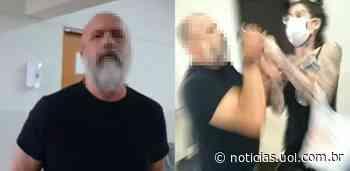 Acusado de não usar máscara, médico agride mulher em posto de saúde de SP - UOL Notícias
