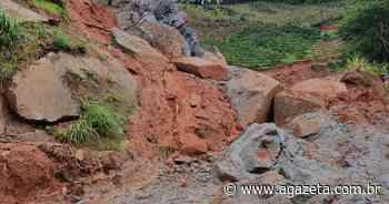 Após desmoronamento, rodovia que liga Muniz Freire a Castelo é liberada - A Gazeta ES