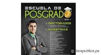 Universidad Ricardo Palma brinda posgrado a profesionales de la salud - LaRepública.pe