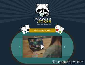 Unmasked.poker: Dein Pokerclub - so Live wie möglich
