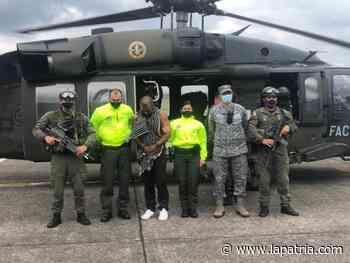 Capturan en Puerto Gaitán (Meta) a alias Porrón, cabecilla del Clan del Golfo - La Patria.com