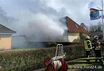 Heeslingen: Feuerwehrleute retten Wohnhaus - Nord24