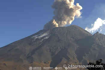 Se reporta ligera cantidad de ceniza del Popocatépetl en Amecameca y Tlalmanalco - 24 Horas El Diario Sin Límites Puebla