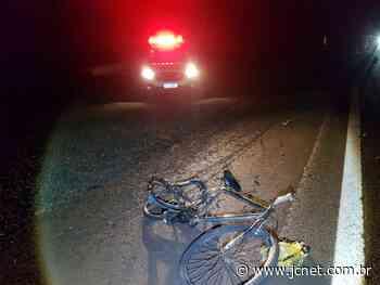 Motorista fugiu Ciclista de 53 anos morre em acidente na Jaú-Bariri Bicicleta conduzida pela vítima - JCNET - Jornal da Cidade de Bauru