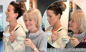 'My absolute ride or die': Kate Beckinsale shares VERY cheeky snap with mum Judy on Mother's Day - Daily Mail