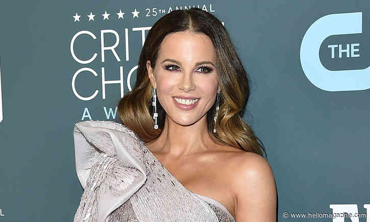Kate Beckinsale shows off dramatic blonde hair transformation - HELLO!