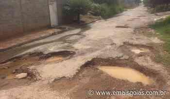 Prefeita de Porangatu pede que motoristas andem devagar para não cair em buracos - Mais Goiás