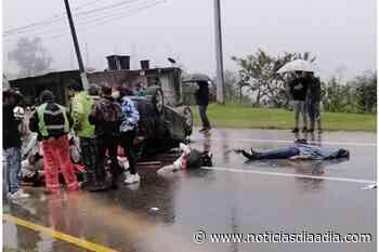 Accidente mortal en la vía Silvania – Fusagasugá, Cundinamarca - Noticias Día a Día