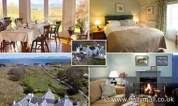 Pub on Scotland's 'sunshine isle' of Colonsay in Inner Hebrides on sale for £650k - Daily Mail
