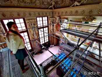Château de Fontainebleau. L'ancienne chambre de la duchesse d'Etampes révèle ses secrets - actu.fr
