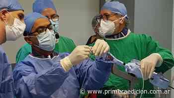 Misiones realizó el primer implante de Mitra Clip del país durante la pandemia - Primera Edicion