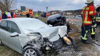 Autos stoßen bei Forchheim zusammen: Zwei Schwerverletzte - Nordbayern.de