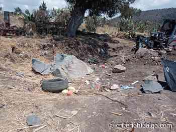 Dos sujetos resultaron lesionados por una explosión en Apan - Criterio Hidalgo
