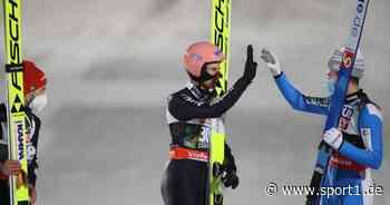 Skispringen Geiger und Bauer helfen Granerud in der Oberstdorf-Quarantäne - SPORT1