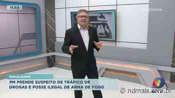 Pinhalzinho: PM prende suspeito de tráfico de drogas e posse ilegal de arma de fogo - ND