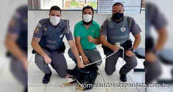 Homem é preso após agredir cachorro em Piraju - Jornal Sudoeste Paulista