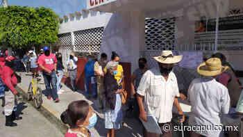Reparten 500 fichas para la vacunación anti Covid en Tixtla; no han llegado las dosis - El Sur Acapulco suracapulco I Noticias Acapulco Guerrero - El Sur de Acapulco