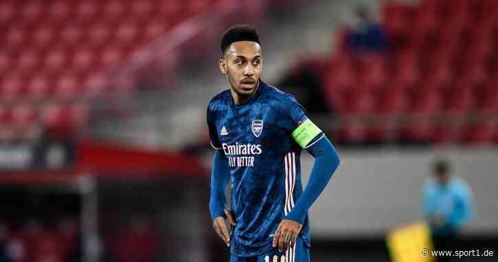 FC Arsenal: Pierre-Emerick Aubameyang aus disziplinarischen Gründen gestrichen - SPORT1