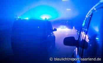Verfolgungsfahrt in Saarlouis und Dillingen - Blaulichtreport-Saarland