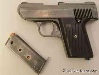 Laval man charged after police seize handgun in Vanier traffic stop - Ottawa Citizen