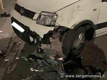 4 Scontro auto-moto a Villongo: un uomo in ospedale - BergamoNews