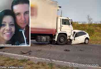 Batida frontal entre carro e caminhão mata casal na região de Rancharia - SBT Interior