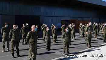 Manching: Für die Einsatzbereitschaft der Luftwaffe - Die ersten Soldaten aus Erding haben ihren Dienst beim Instandsetzungszentrum 11 in Manching angetreten - donaukurier.de