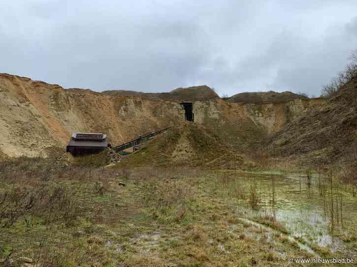 """Beruchte zandgroeve onder het stof vandaan gehaald: """"Nieuw project komt tegemoet aan zorgen buurtbewoners en gemeentebestuur"""""""