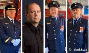 Annual Mississippi Mills Fire Association Dinner honours local heroes - lake88.ca