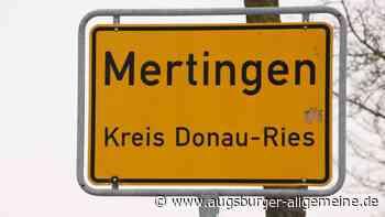 Mertingen: Unbekannter reißt Ortsschild aus dem Fundament - Augsburger Allgemeine