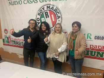 Es Marcela Hinojos precandidata del PRI a alcaldía de Nuevo Casas Grandes - entrelineas