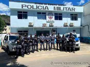 Força Tática da PM volta a operar em Mimoso do Sul, Muqui, Atílio Vivácqua e Apiacá - Aqui Notícias - www.aquinoticias.com