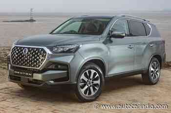 SsangYong Rexton facelift revealed - Autocar India