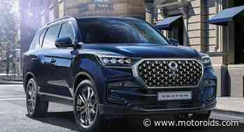 Ssangyong Rexton Gets A Mid-Life Facelift Globally; Mahindra Alturas G4 To Follow Suit? - Motoroids