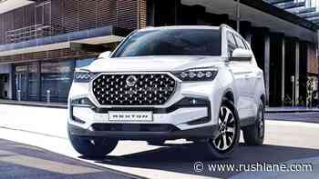 2021 SsangYong Rexton SUV Facelift Debuts - More Power, New Features - RushLane